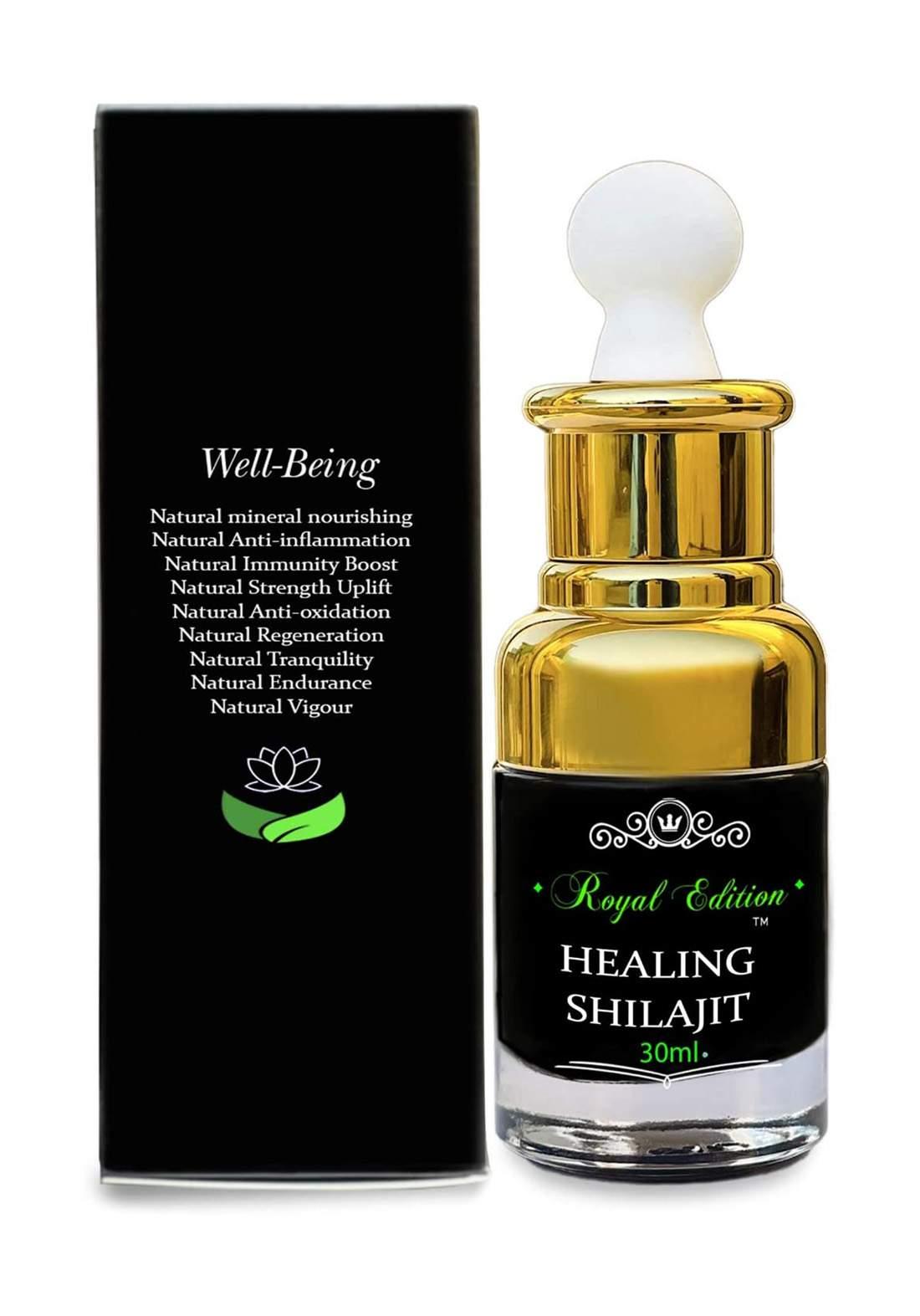 Royal Edition Healing Shilajit 30ml الشيلاجيت النقي