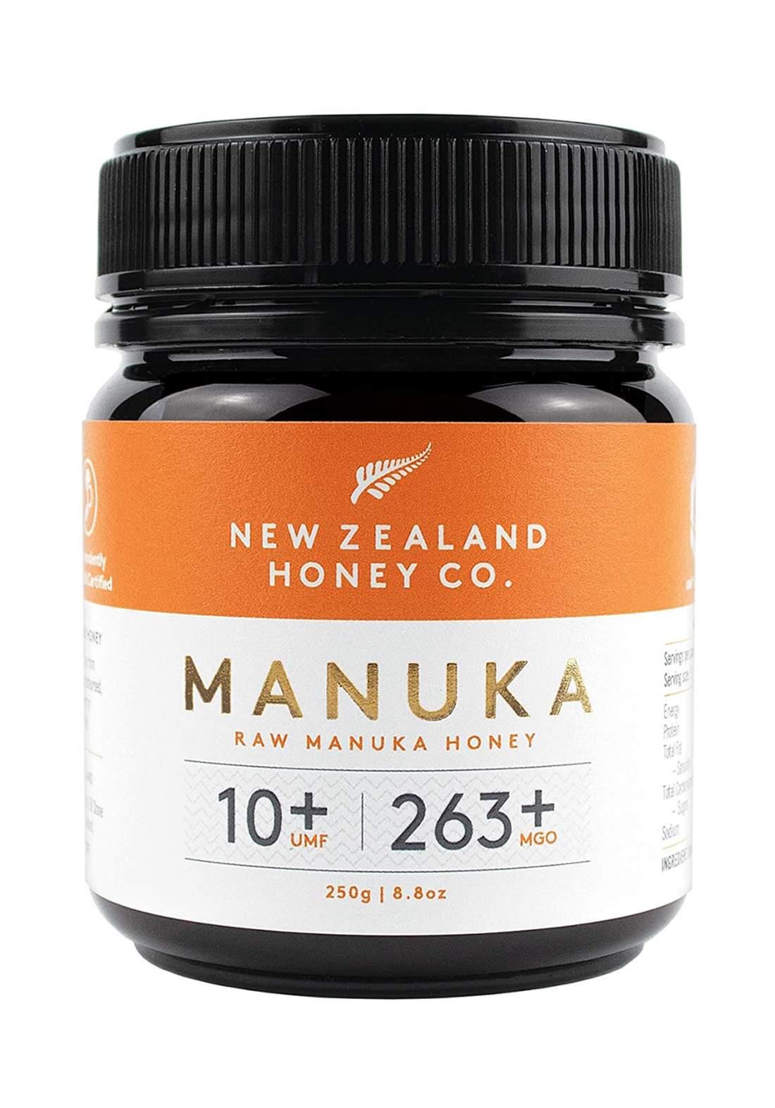 New Zealand Honey Co. Raw Manuka Honey 250g عسل المانوكا