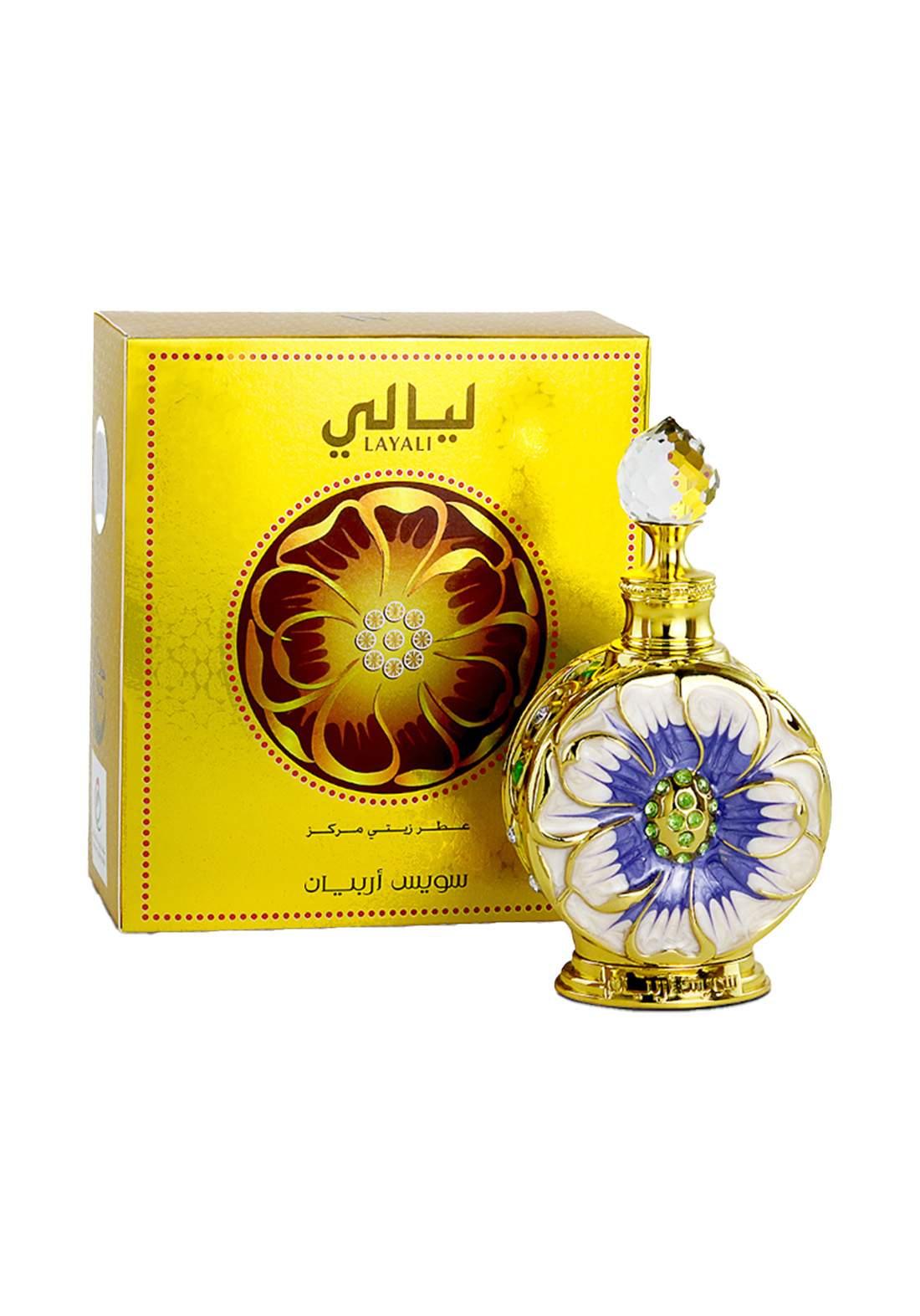Swiss Arabian 1064 Layali  concentrated Perfume Oil  for Unisex-50ml عطرلكلا الجنسين