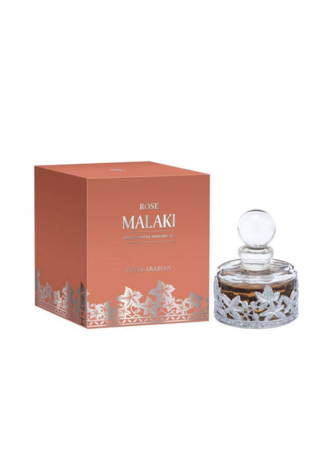 Swiss Arabian 207 Rose Malaki Concentrated Perfume Oil  Unisex- 30 ml  عطر زيتي  لكلا الجنسين