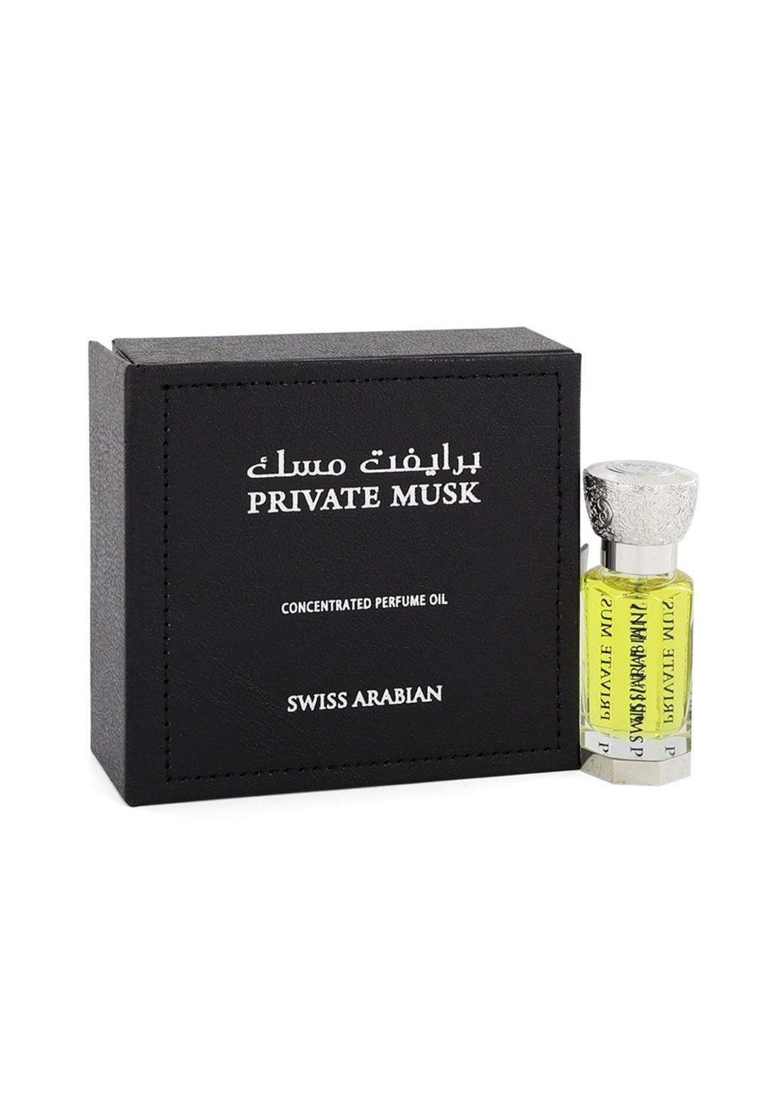 Swiss Arabian 1073 Private Musk Perfume Oil - 12 ml  عطر زيتي  لكلا الجنسين