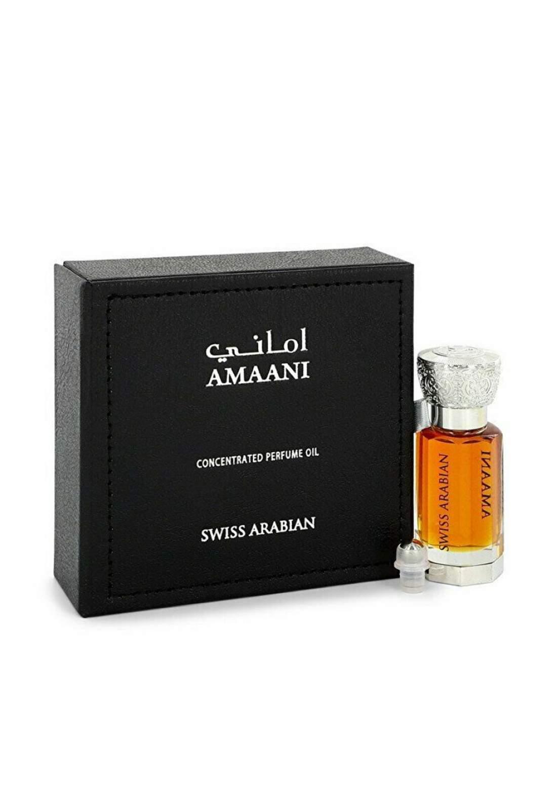 Swiss Arabian 001 Amaani Perfume Oil (Unisex) 12 ml  عطر زيتي لكلا الجنسين