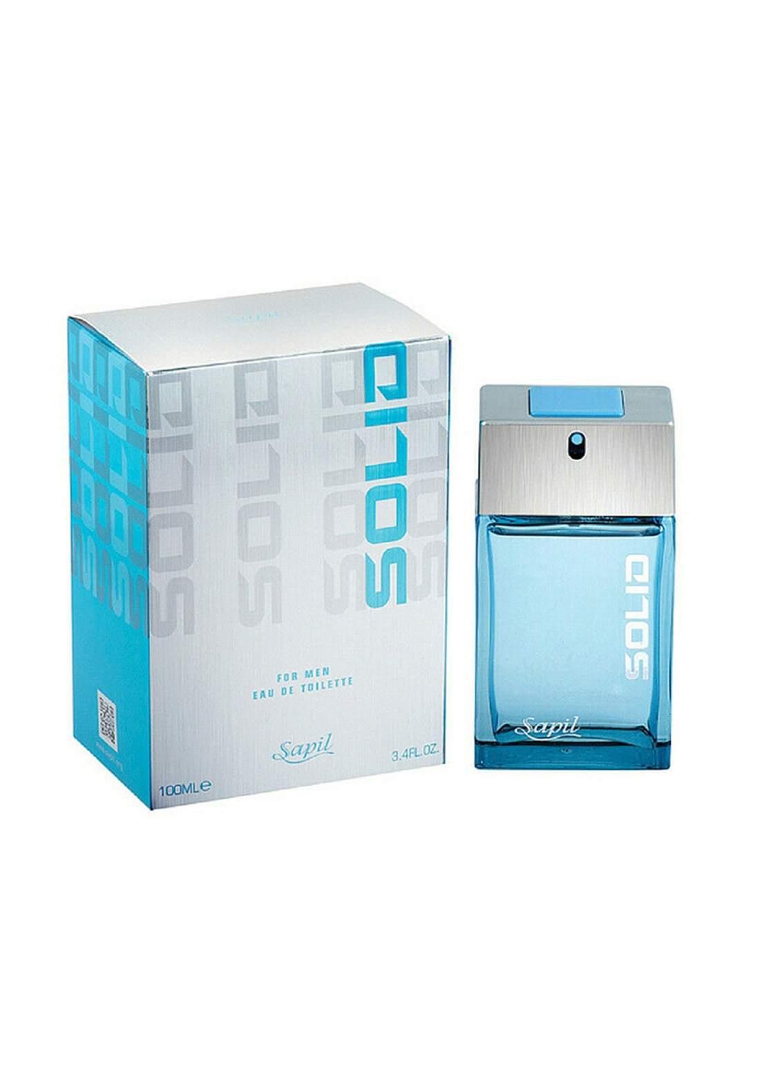 Sapil  917U Solid Blue Mens  Eau De Toilette Spray 100 ml   عطر رجالي