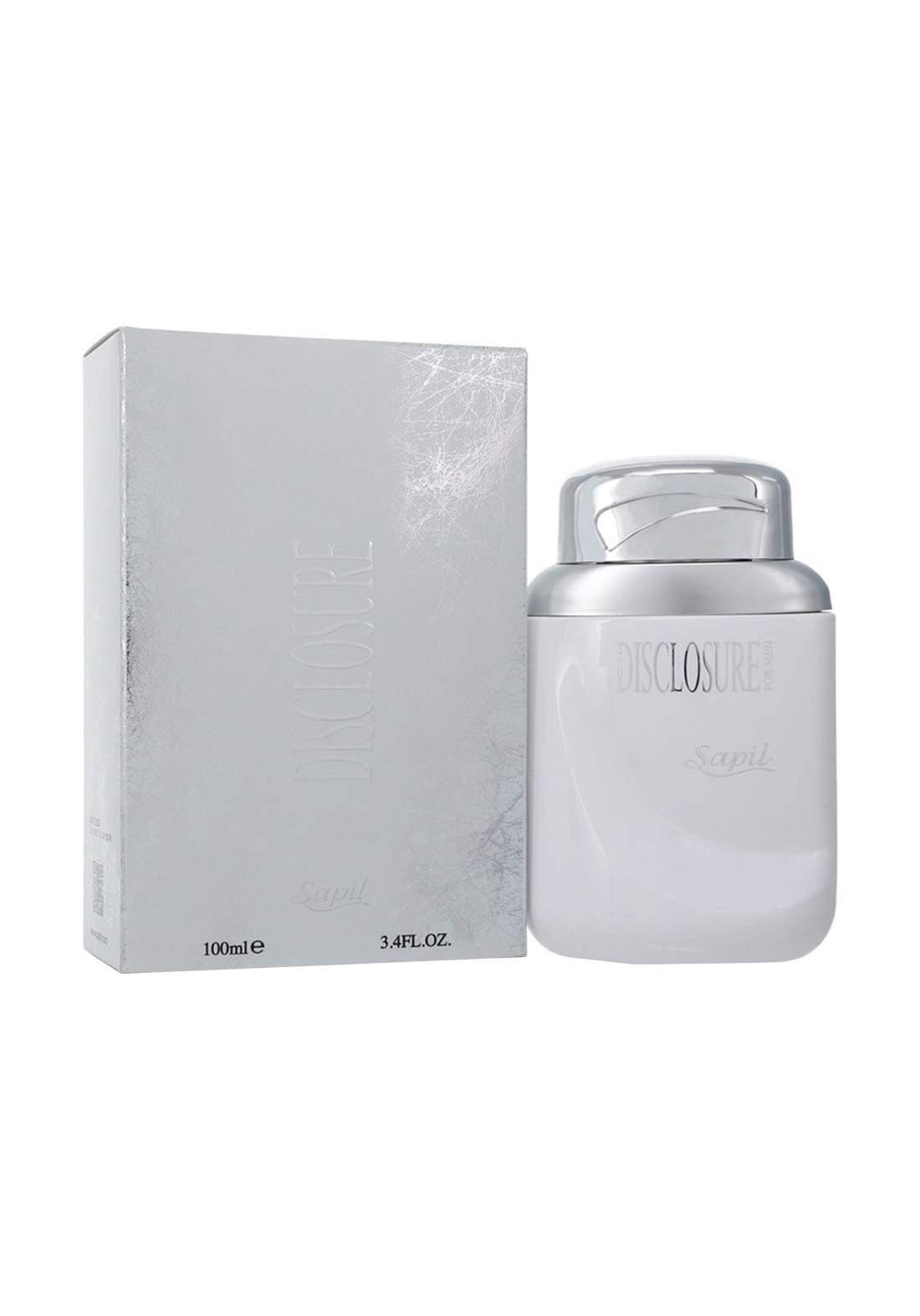 Sapil Disclosure 347U  Eau De Toilette Perfume Mens Cologne for Men 100 ml-White عطر رجالي