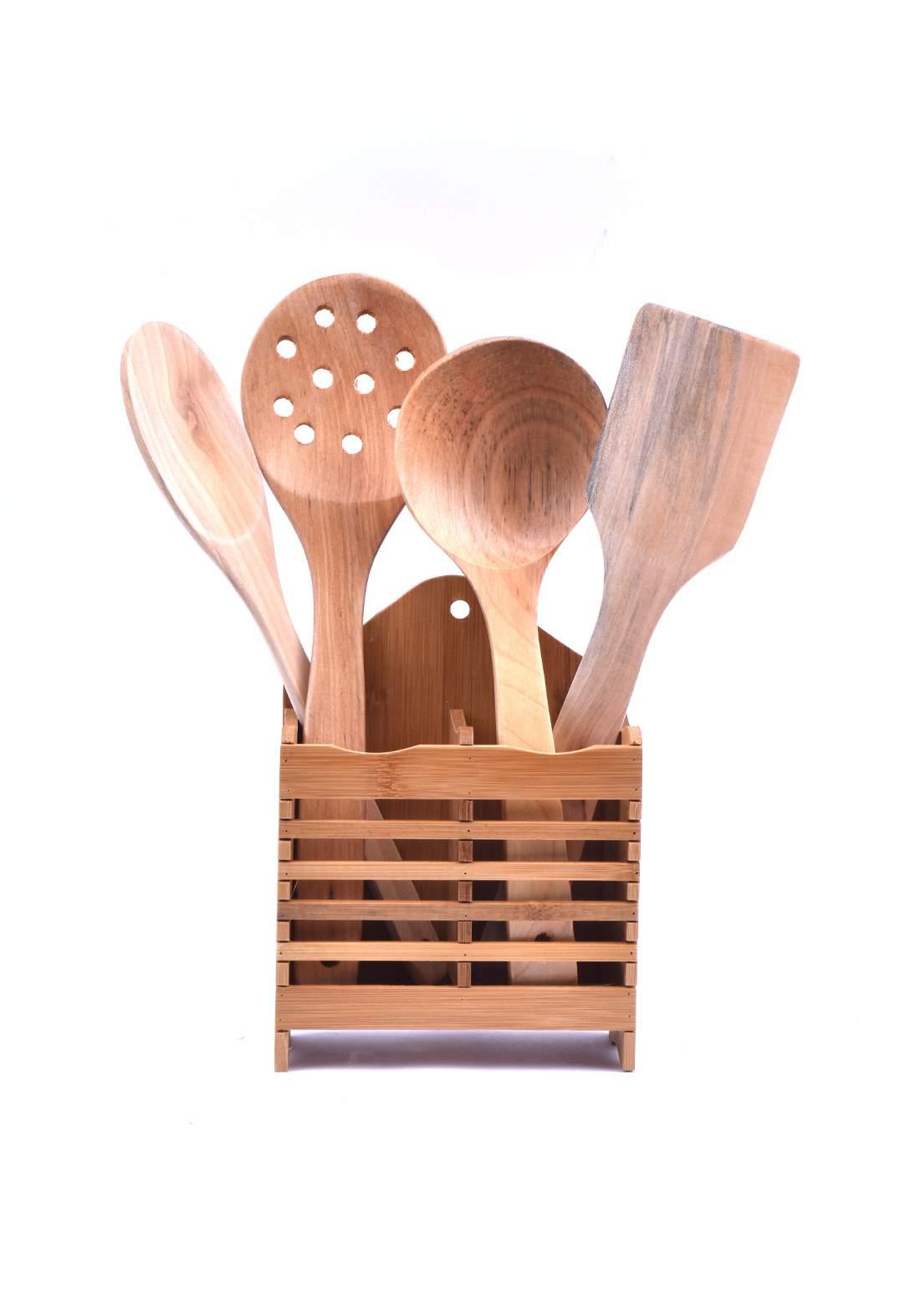 سيت ملاعق طبخ خشبية  61