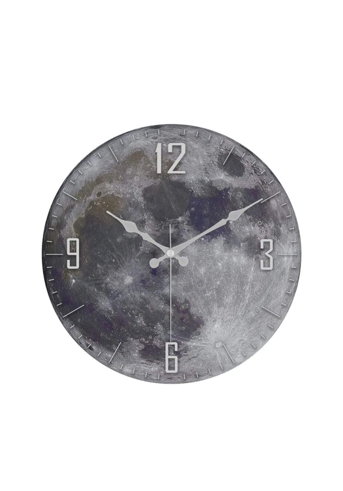 ساعة جداية شكل قمر