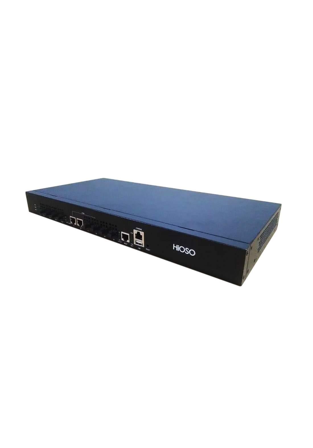 Hioso Epon OLT 2 Pon with 4 SFP power supply - Black