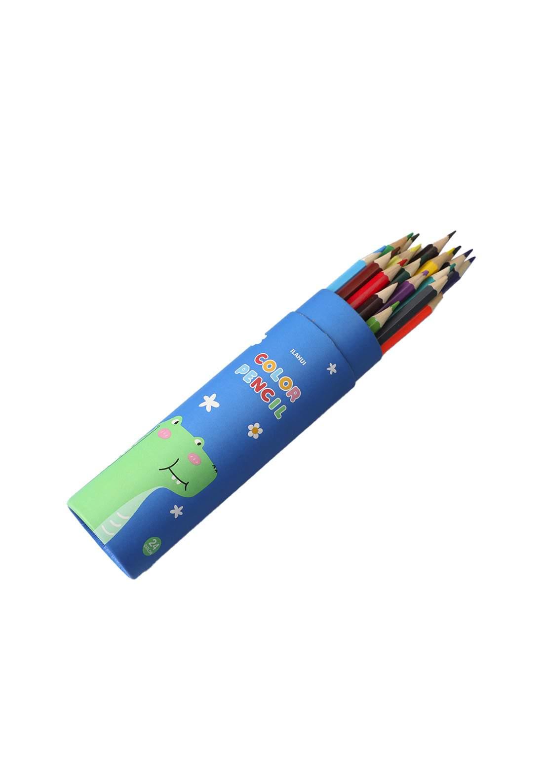 Ilahui Colour Pencils Set 24 Pcs اقلام تلوين
