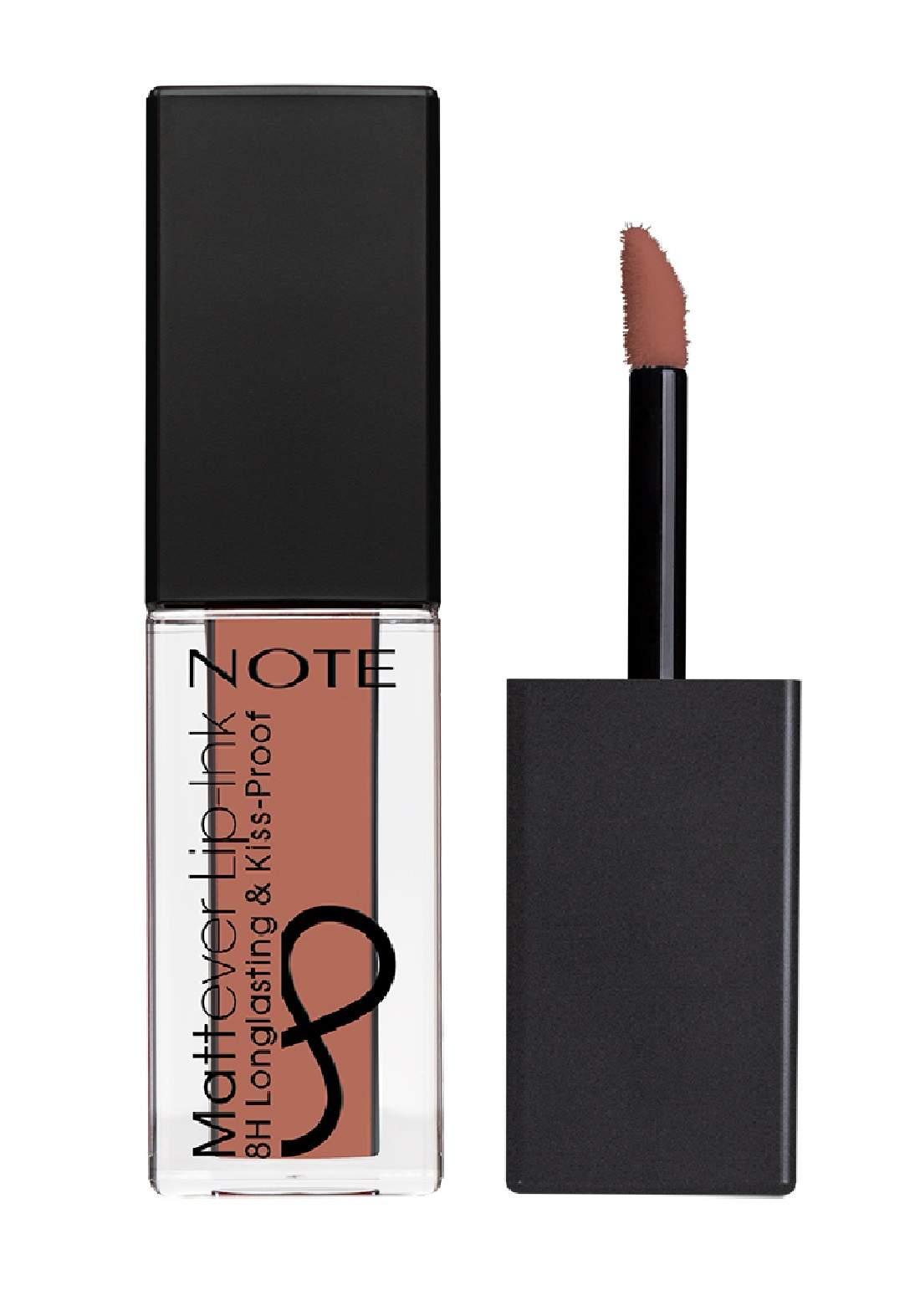 Note Cosmetics Mattever Lip Ink No.01 First Love Beige 4.5ml احمر شفاه