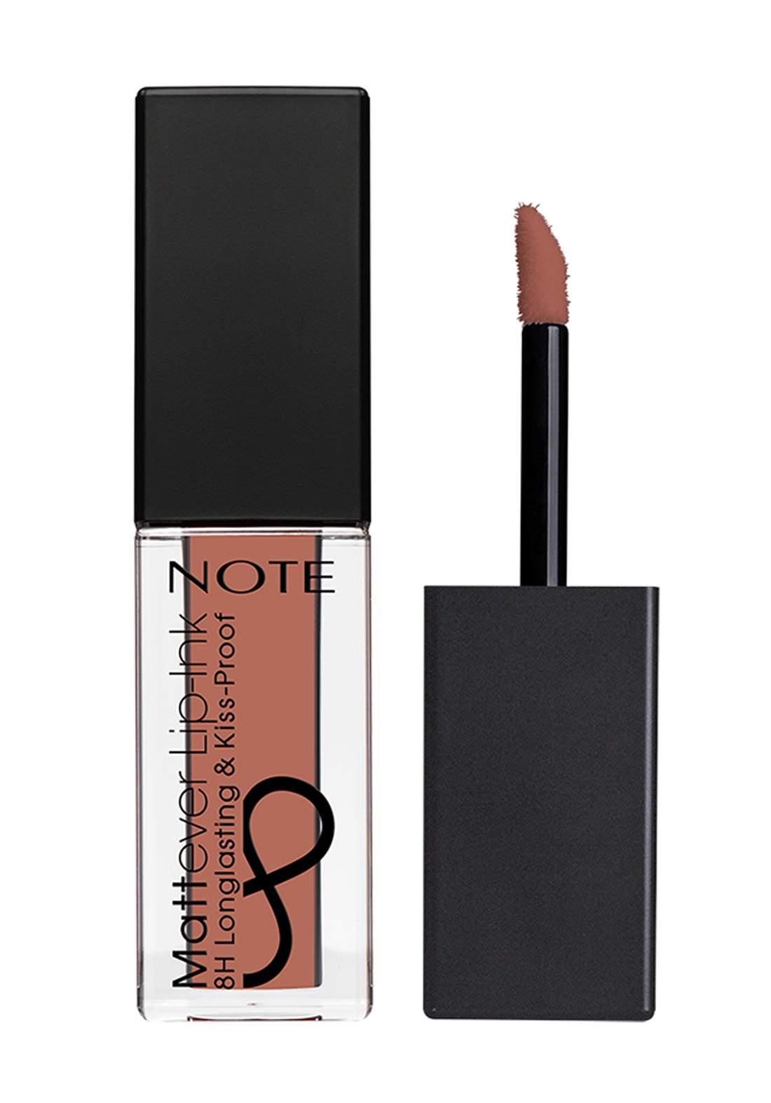 Note Cosmetics Mattever Lip Ink No.03 Cappuccino 4.5ml احمر شفاه