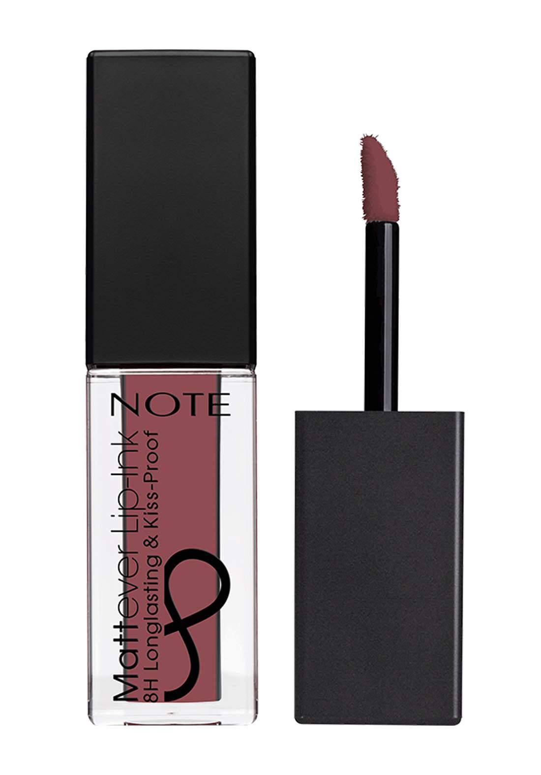 Note Cosmetics Mattever Lip Ink No.07 Mouve On 4.5ml احمر شفاه
