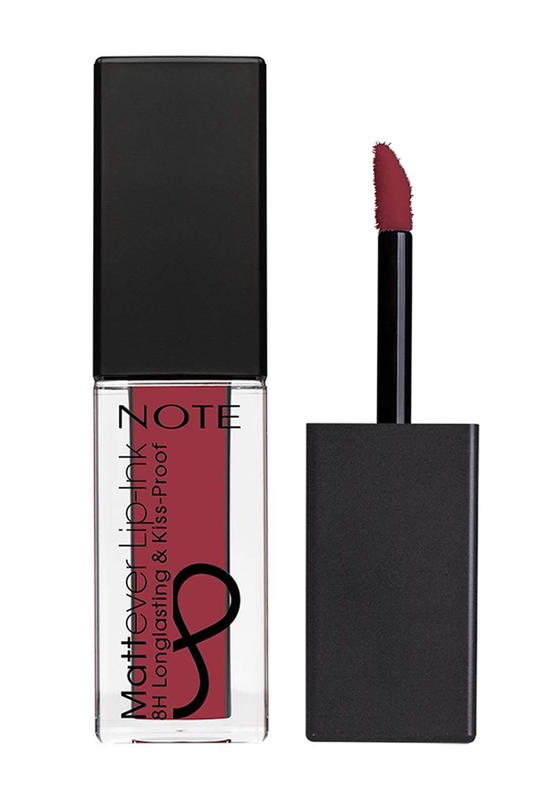 Note Cosmetics Mattever Lip Ink No.08  Antique Pink 4.5ml احمر شفاه