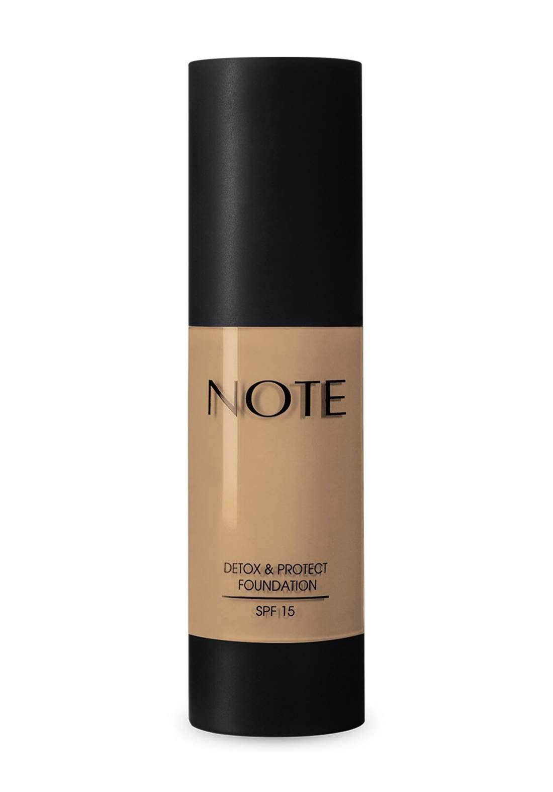 Note Detox And Protect Foundation 35 ml No.01 كريم اساس