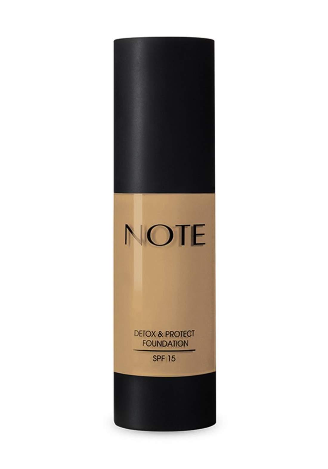 Note Detox And Protect Foundation 35 ml No.03 كريم اساس