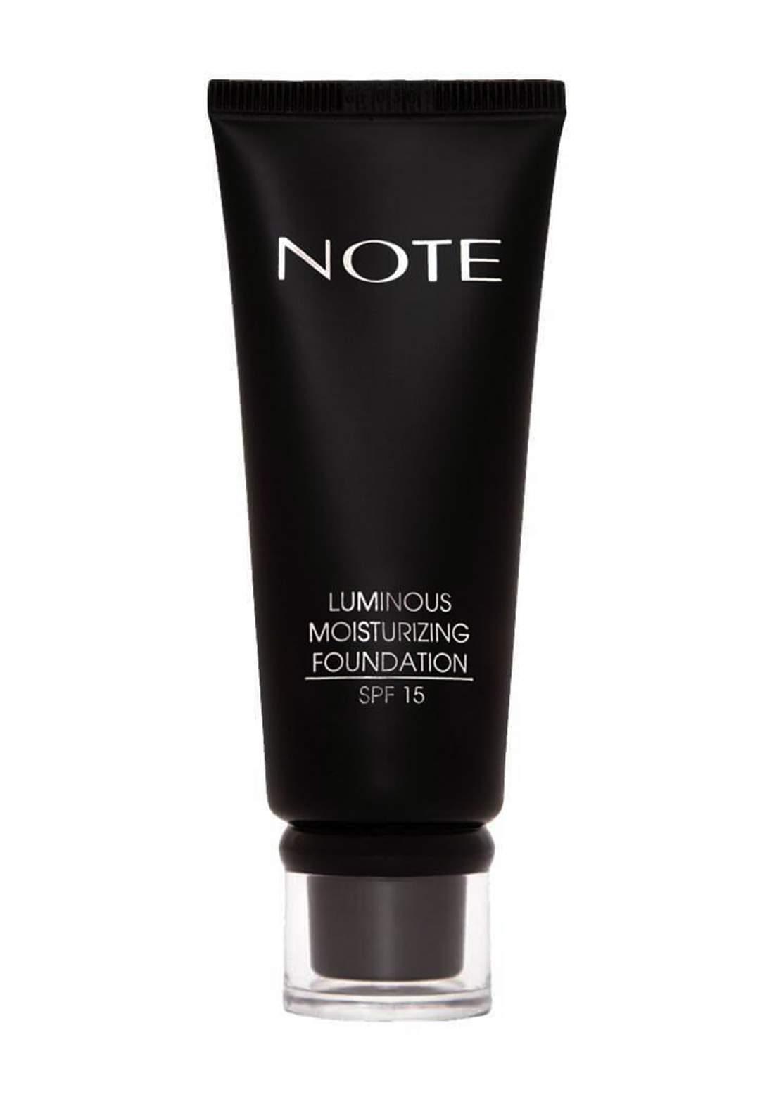 Note Luminous Moisturizing SPF 15 Foundation No.01  35 ml كريم اساس