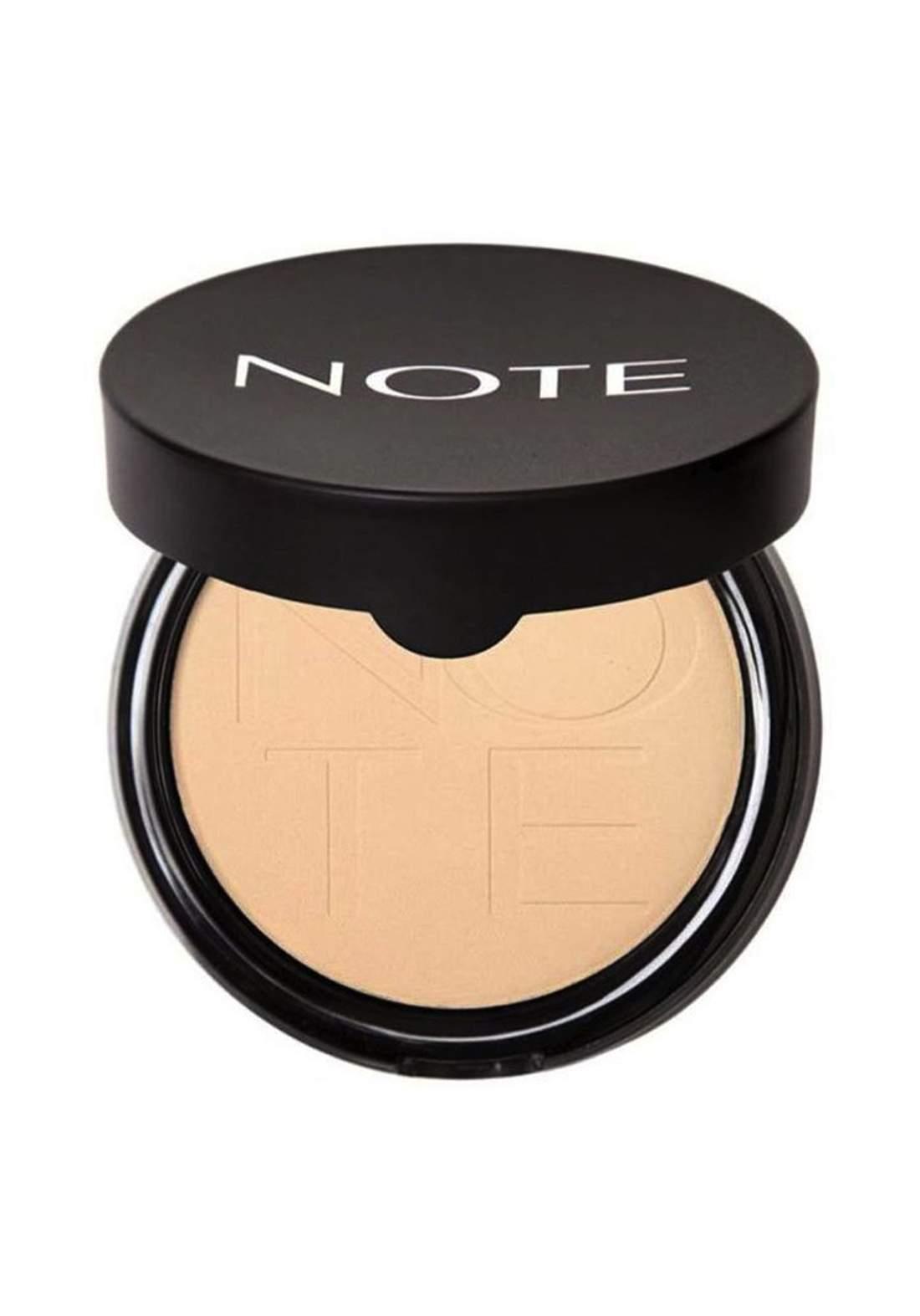 Note Soft Touch Shiny Pressed Powder No.01 باودر مضغوط