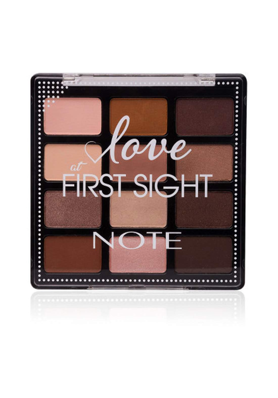 Note Love At First Sight Eye Shadow Palette No.201 باليت ظلال العيون