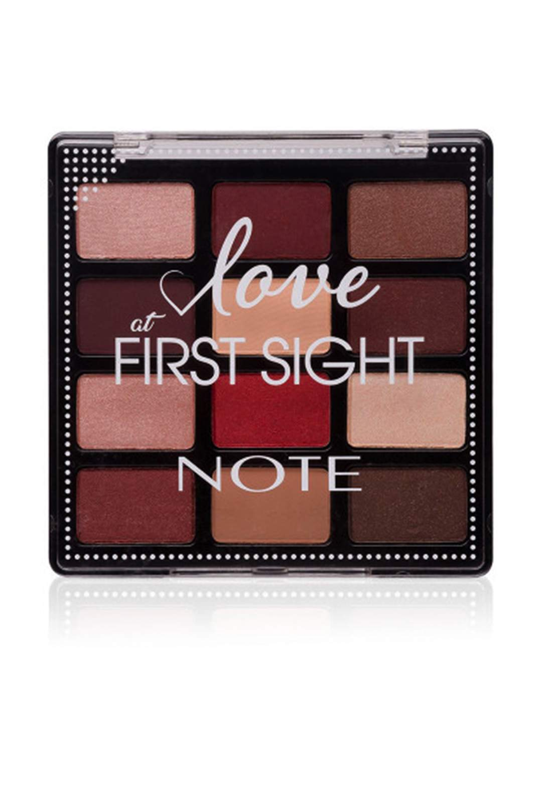 Note Love At First Sight Eye Shadow Palette No.202 باليت ظلال العيون
