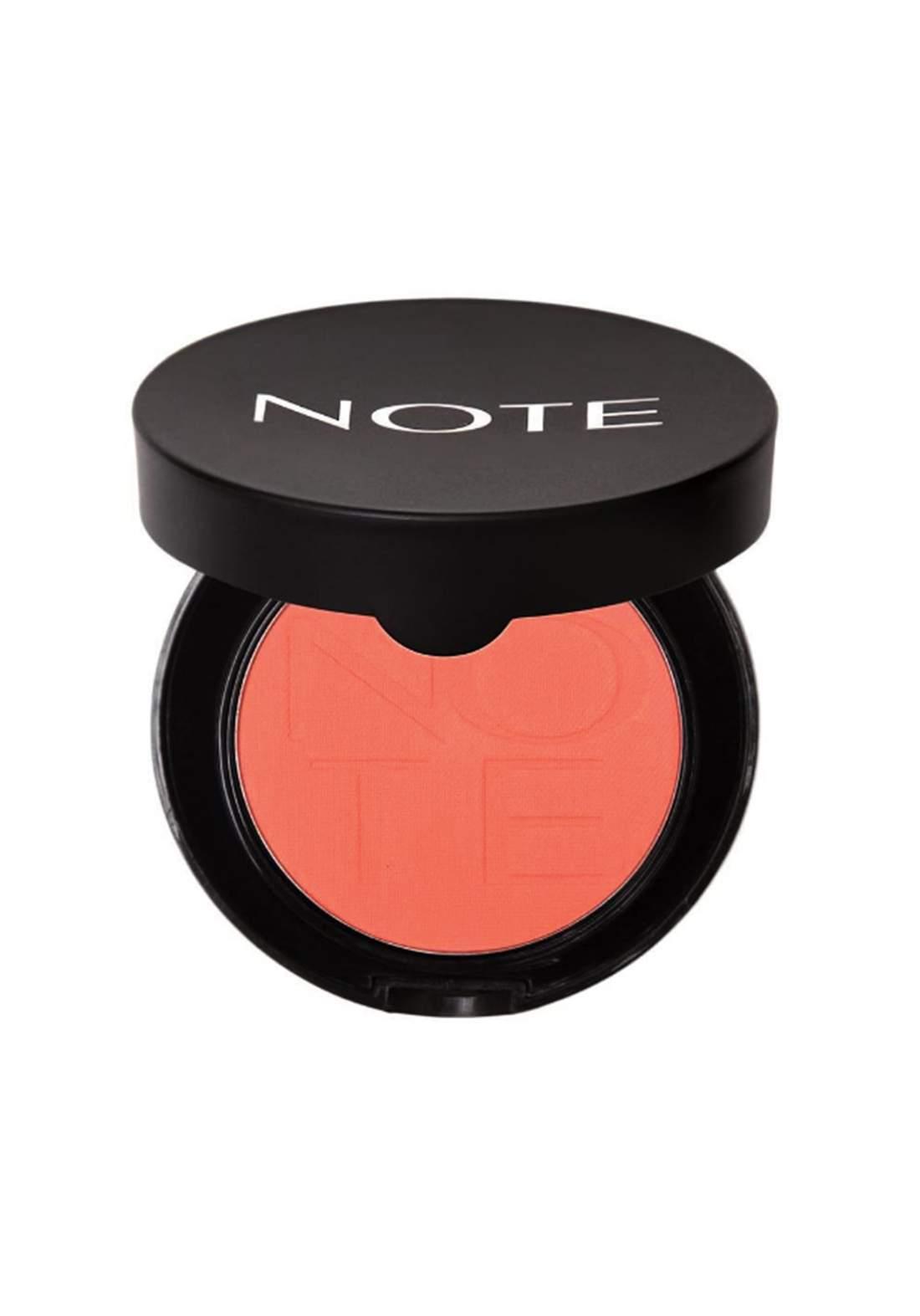 Note Luminous Silk Compact Blusher Pink In Summer No.02 أحمر خدود