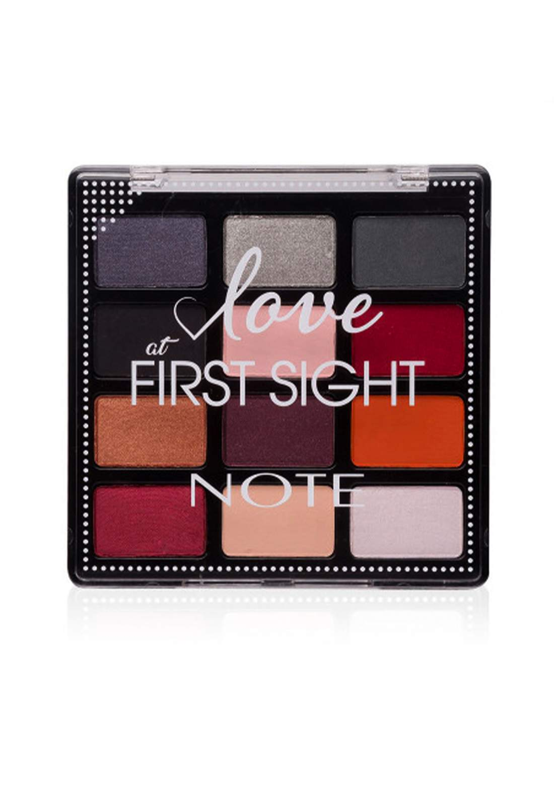 Note Love At First Sight Eye Shadow Palette No.203 باليت ظلال العيون