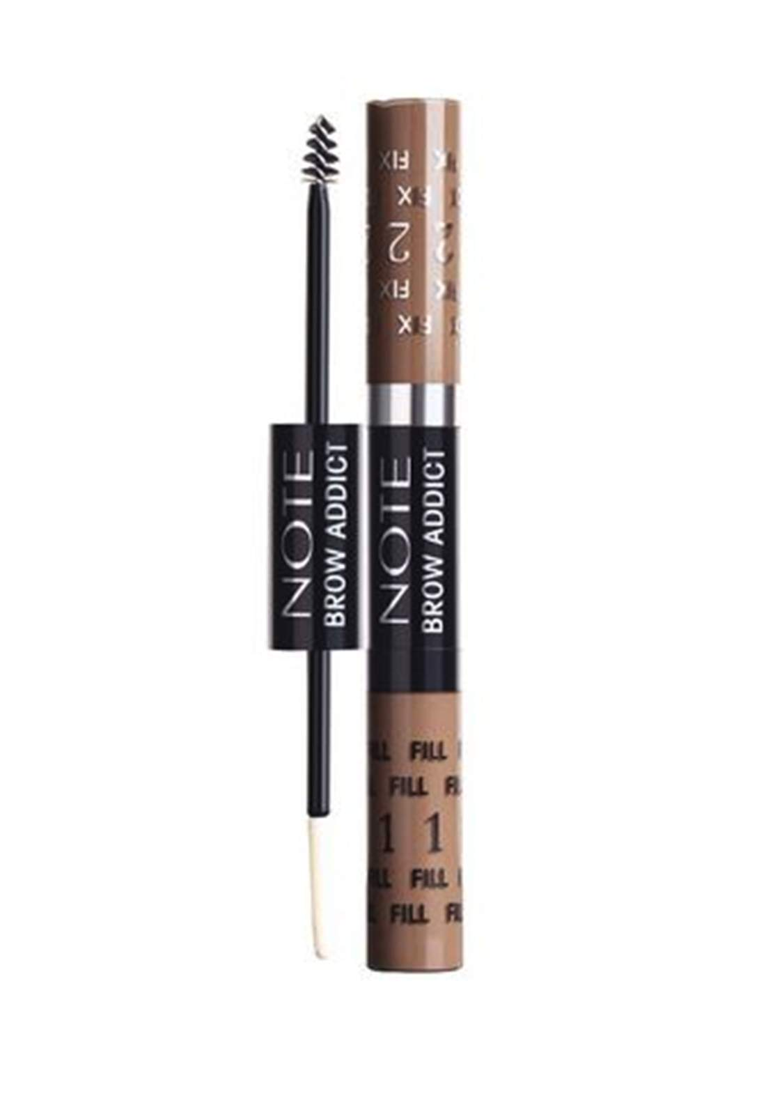 Note Brow Addict Tint and Shaping Gel 5ml Light Brown No.02 ماسكارا حاجب