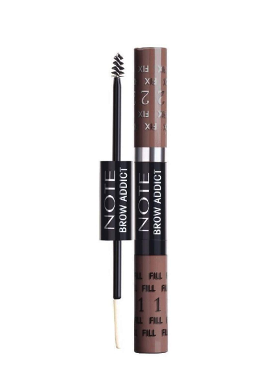 Note Brow Addict Tint and Shaping Gel 5ml Dark Brown No.03 ماسكارا حاجب