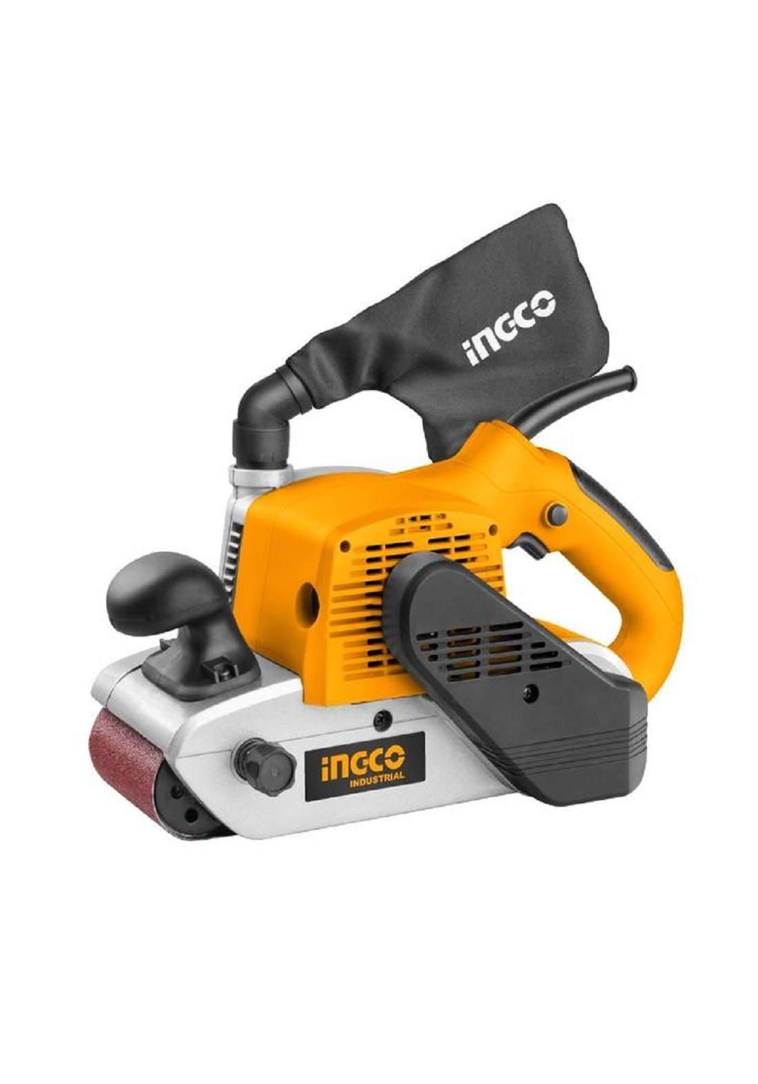 INGCO PBS12001 Belt Sander 1200W ماكنة كاغد رولة 100 ملم 1200 واط