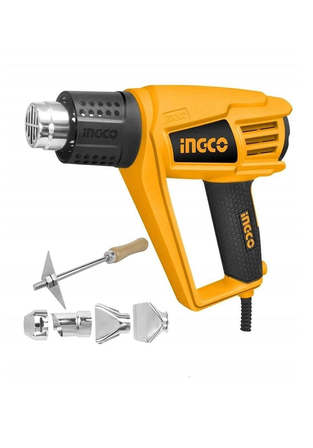 INGCO HG20008 Heat Air Gun مسدس هواء حراري (دريل هيتر) 2000 واط