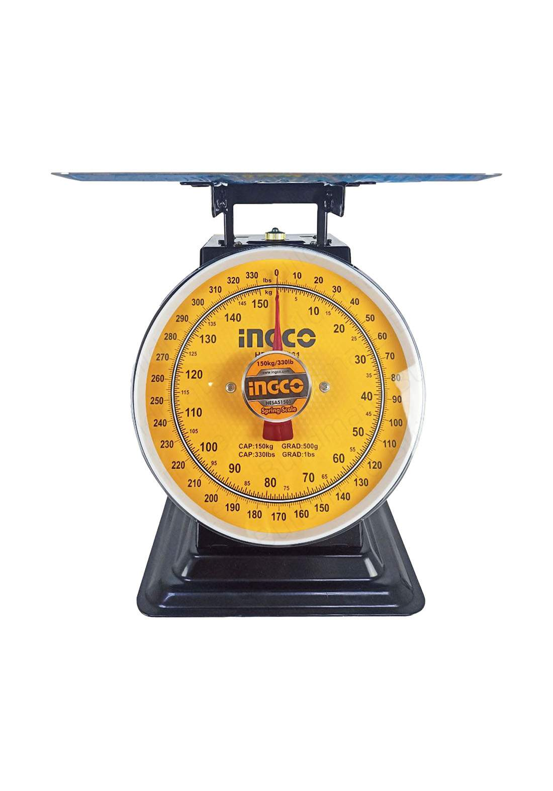 Ingco HESA51501 Spring Table Scale 150 kg ميزان طاولة
