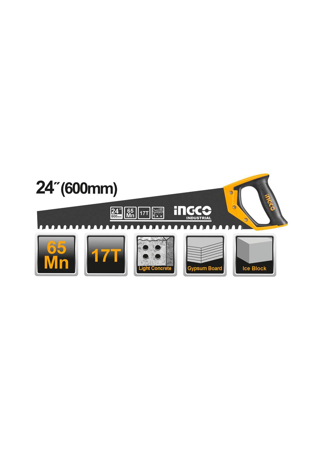 Ingco HCBS016001  Light Concrete Saw 600mm منشار جوكر