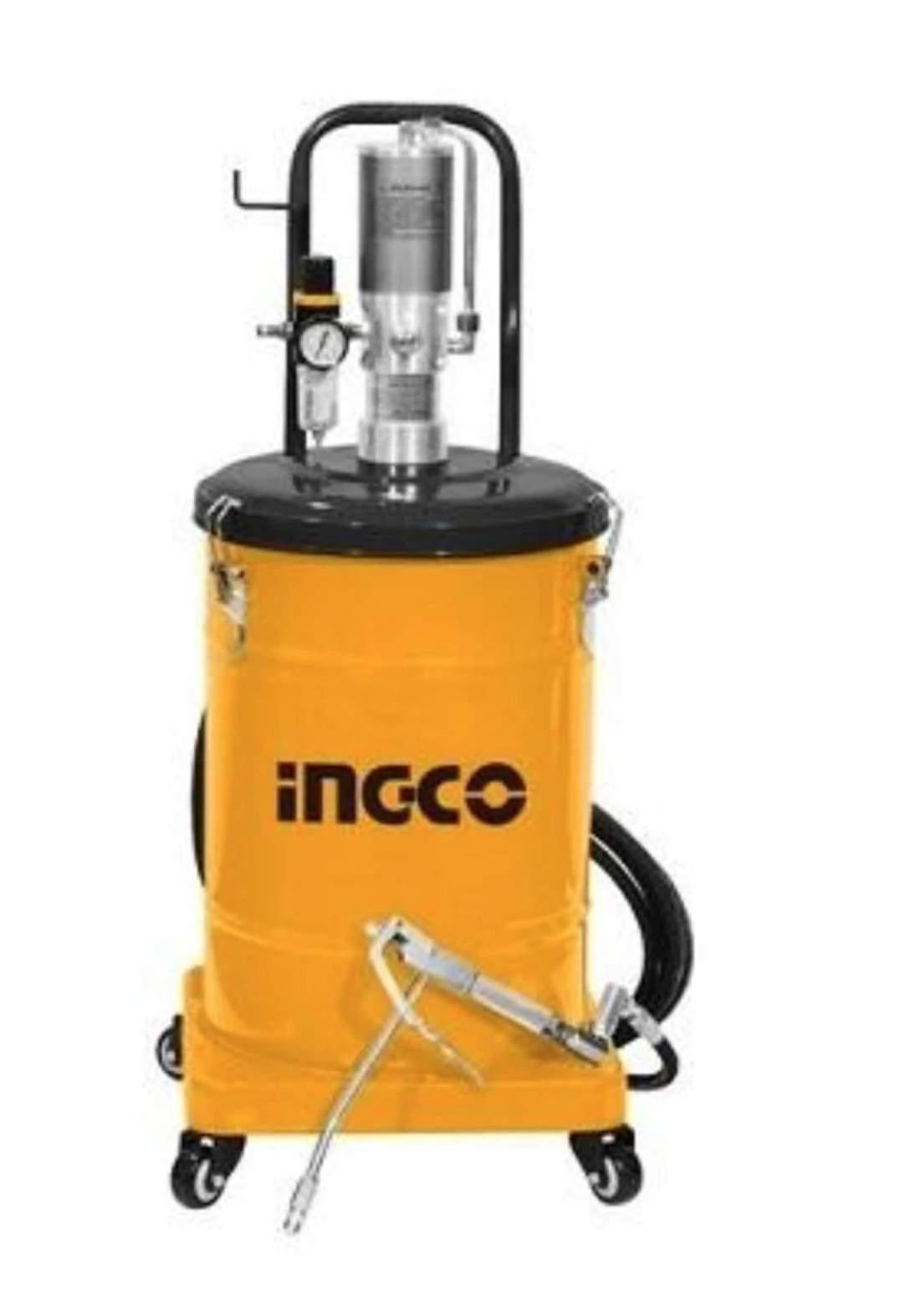 Ingco AGL01301 Air Grease Lubricator 30 Liters تشحيم دهن هيدروليك