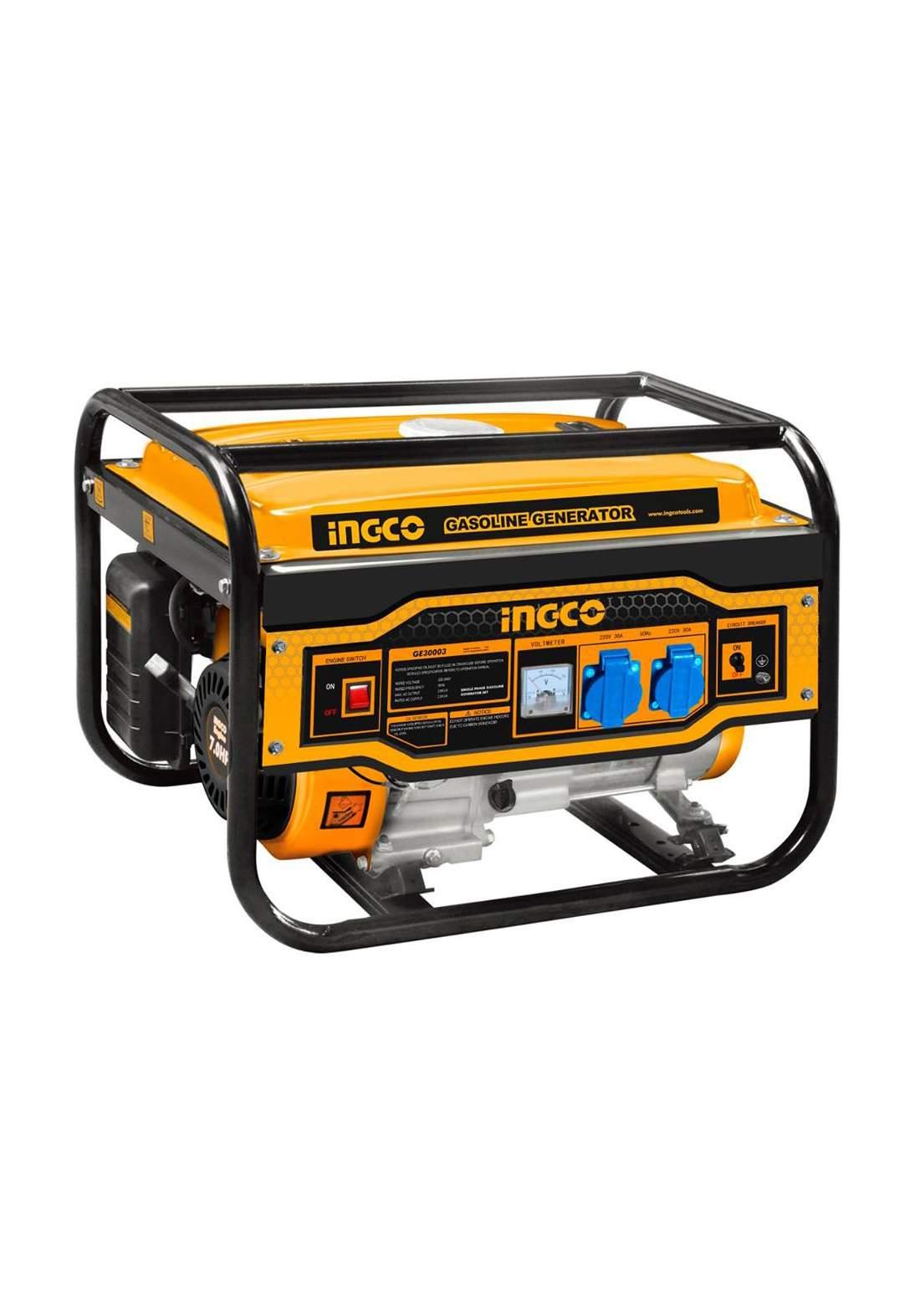 Ingco GE30003 Gasoline Generator 12 A 3000 W مولدة كهرباء هندر بانزين