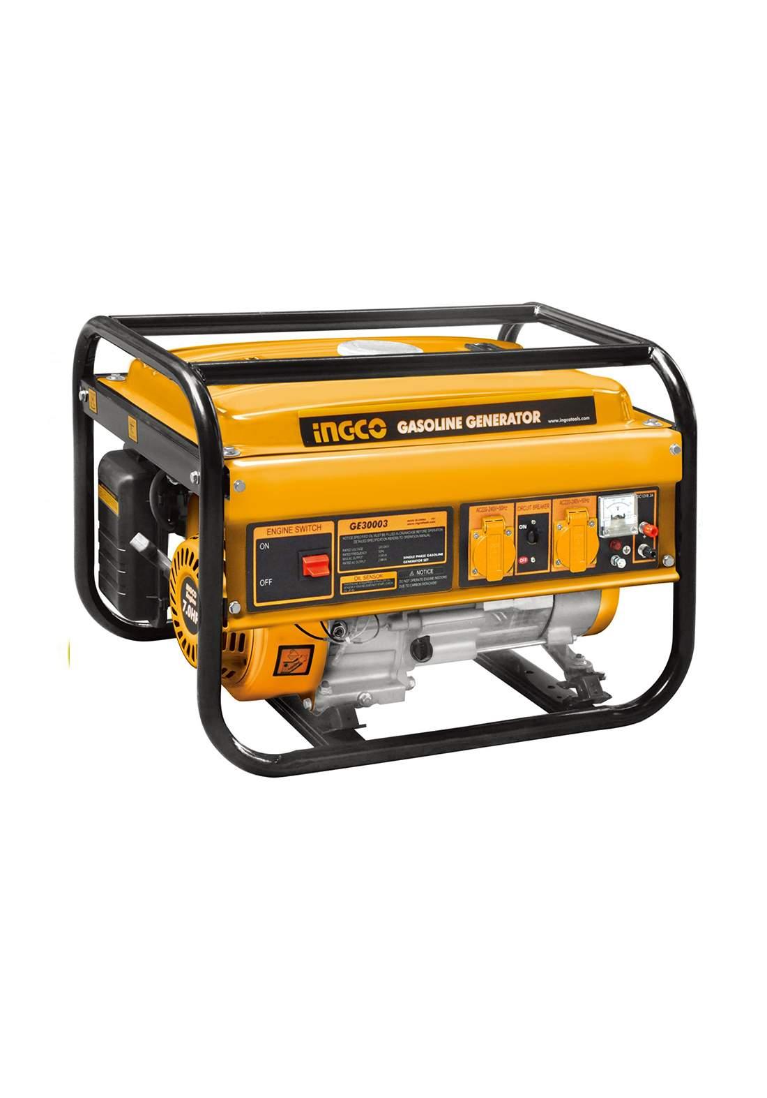 Ingco GE30003-1 Gasoline Generator 12 A 2800 W مولدة كهرباء سلف بانزين
