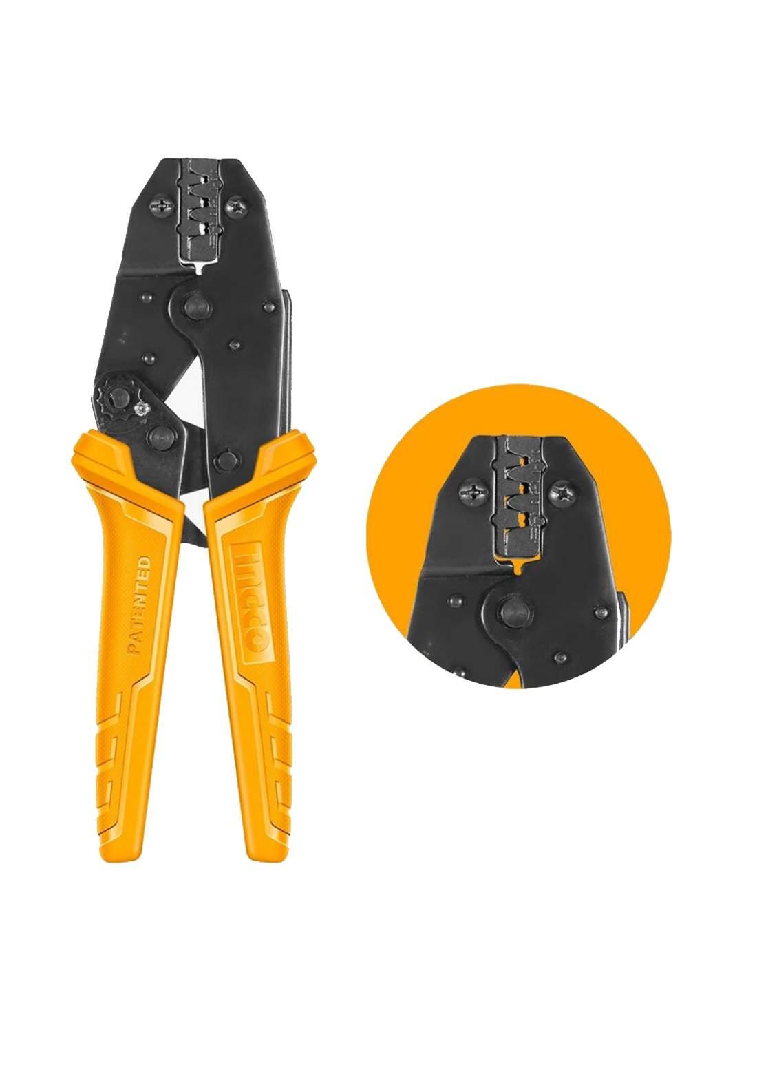 Ingco HRCPC0506 Ratchet Crimping Pliers 230 mm كماشة كابسة اسلاك