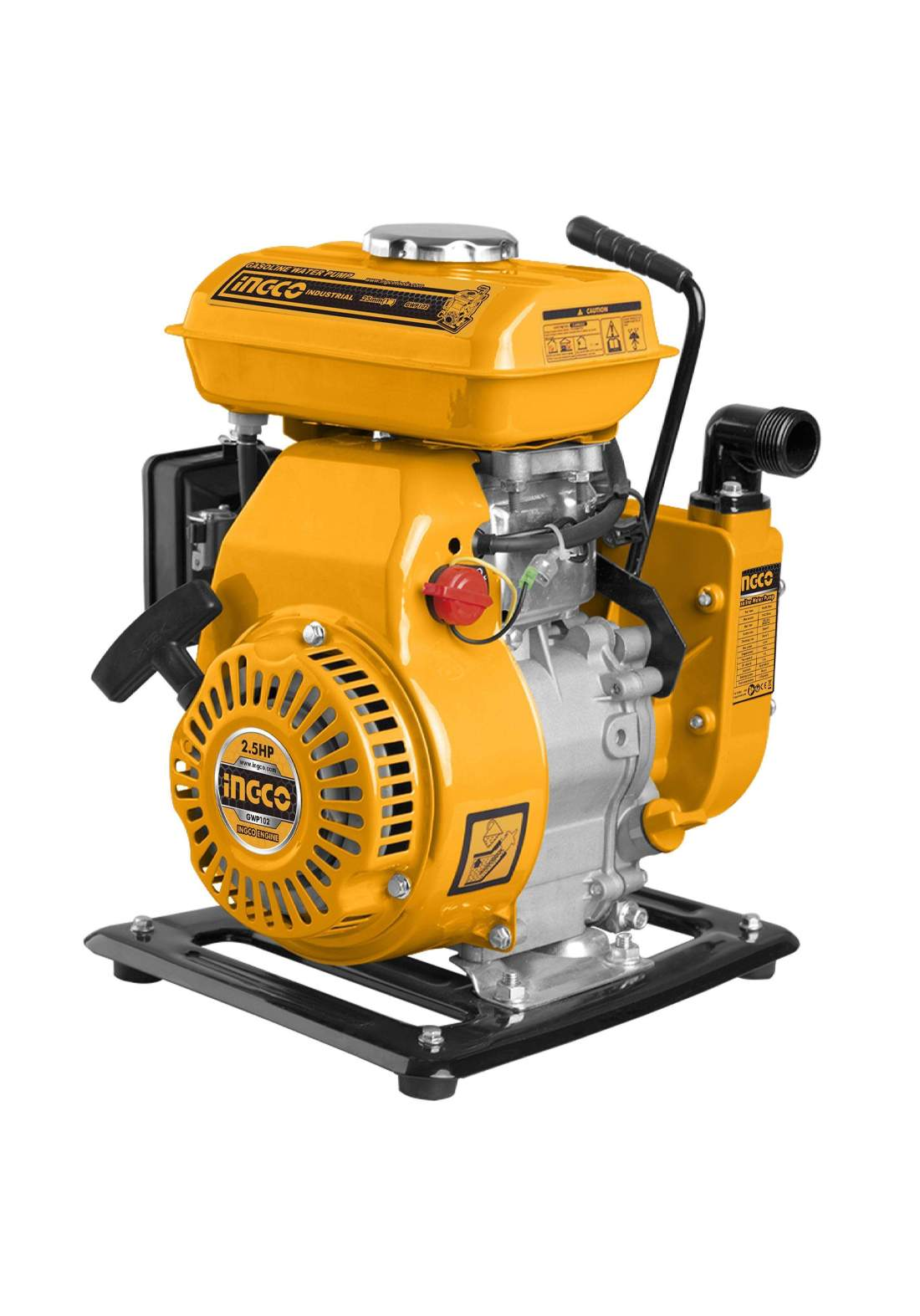 Ingco GWP102 Gasoline Water Pump 2.5HP 100L/min ماطور ماء