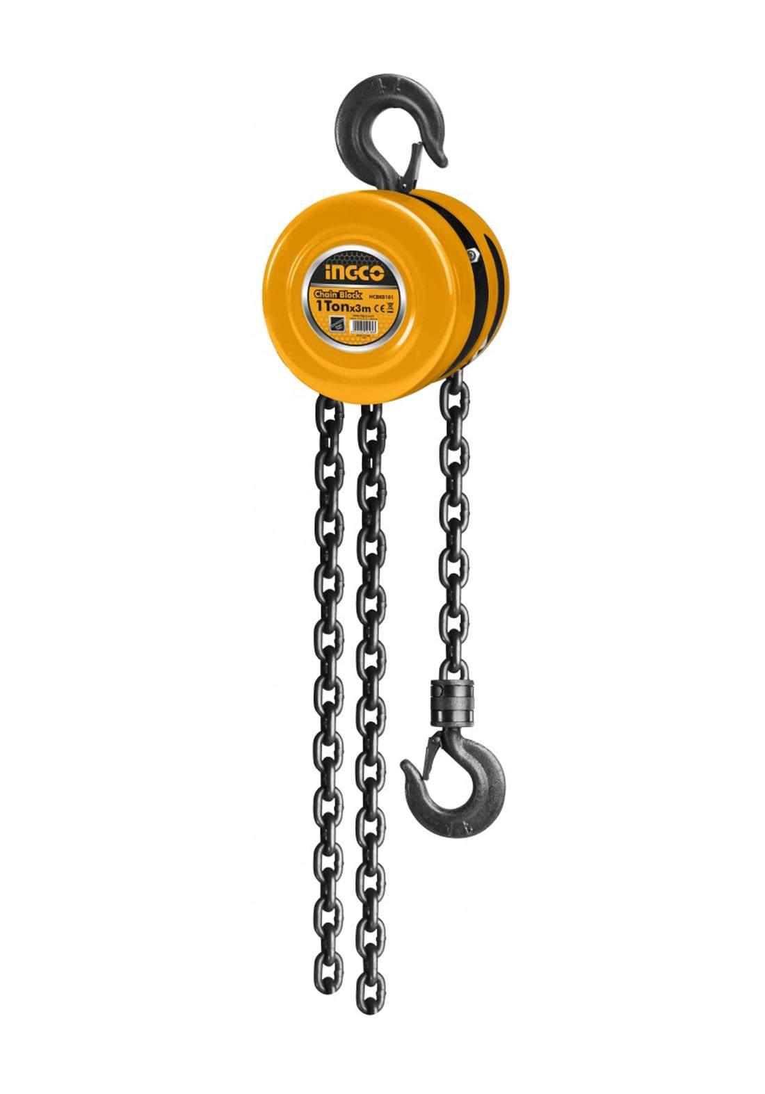 Ingco HCBK0101 Chain Block 1 Ton بكرة سحب