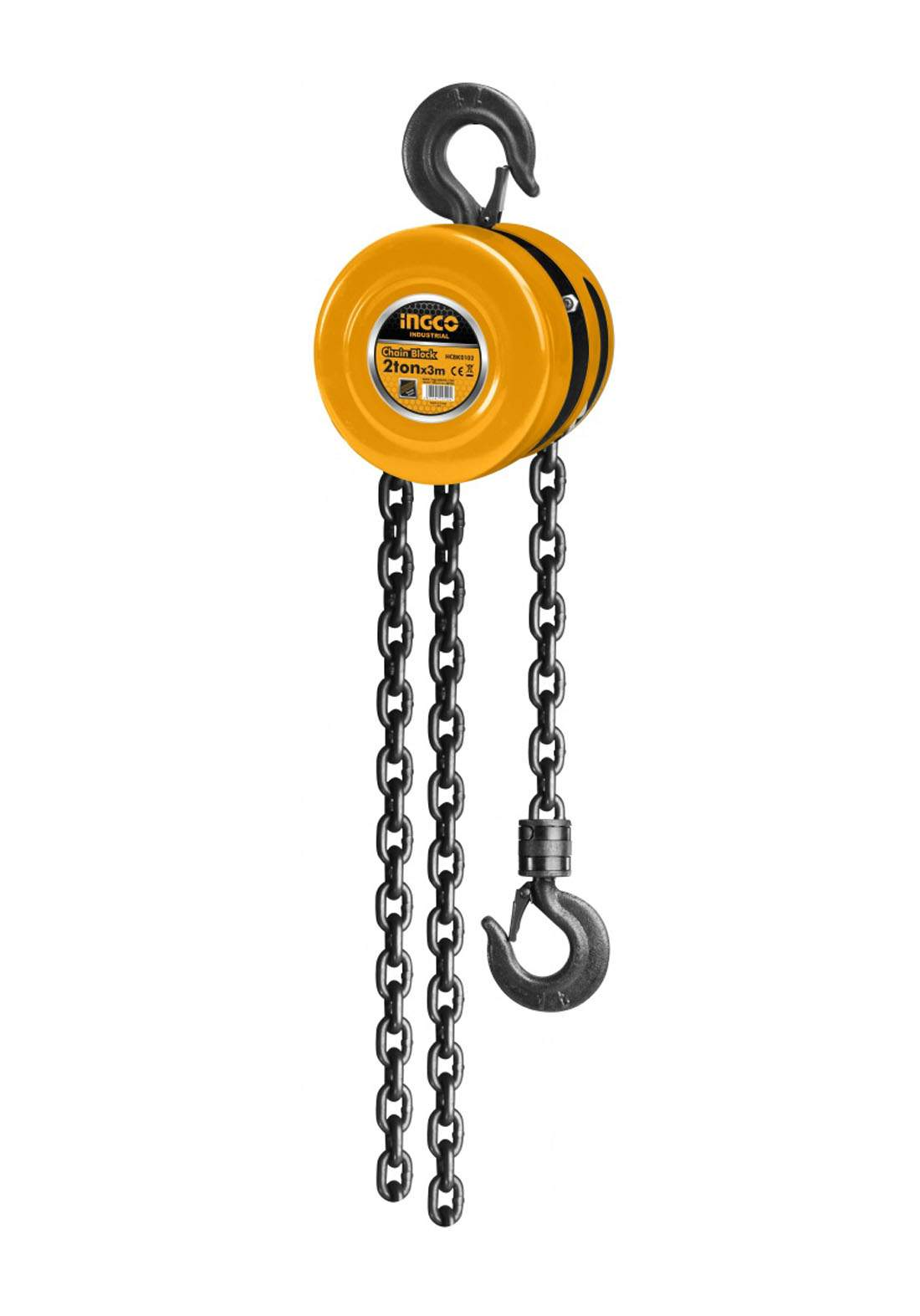Ingco HCBK0102 Chain Block 2 Ton بكرة سحب
