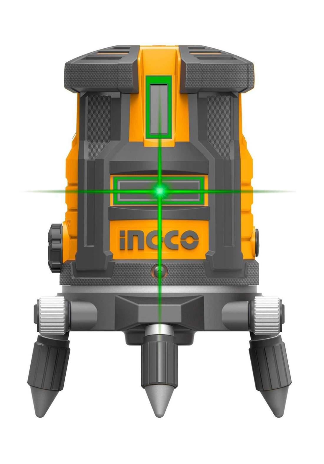 Ingco HLL305205 Self-Leveling Line Green Laser Beams 20 m جهاز قياس المستوى باشعة الليزر