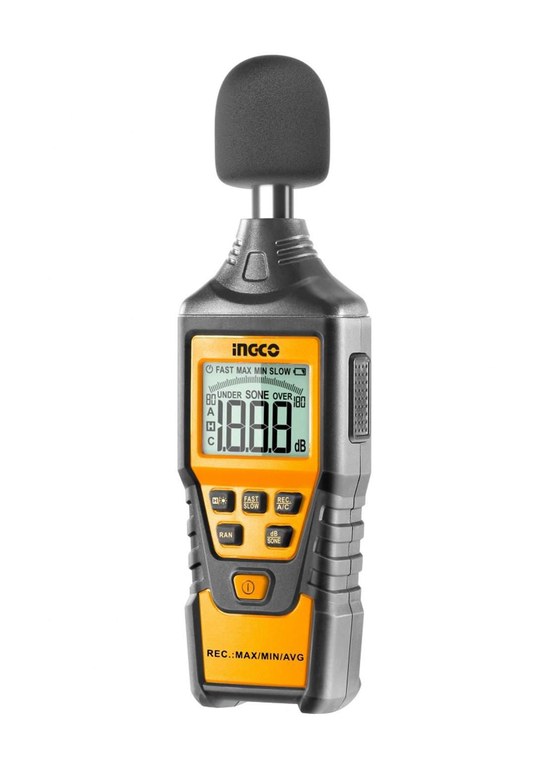 Ingco HETSL01 Digital Sound Level Meter جهاز قياس مستوى الصوت الرقمي