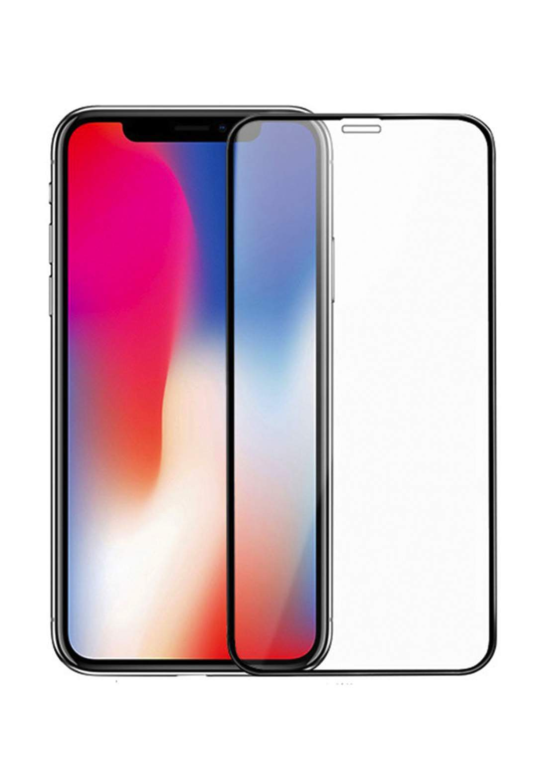Tempered Glass Screen Protector for iPhone X  واقي شاشة