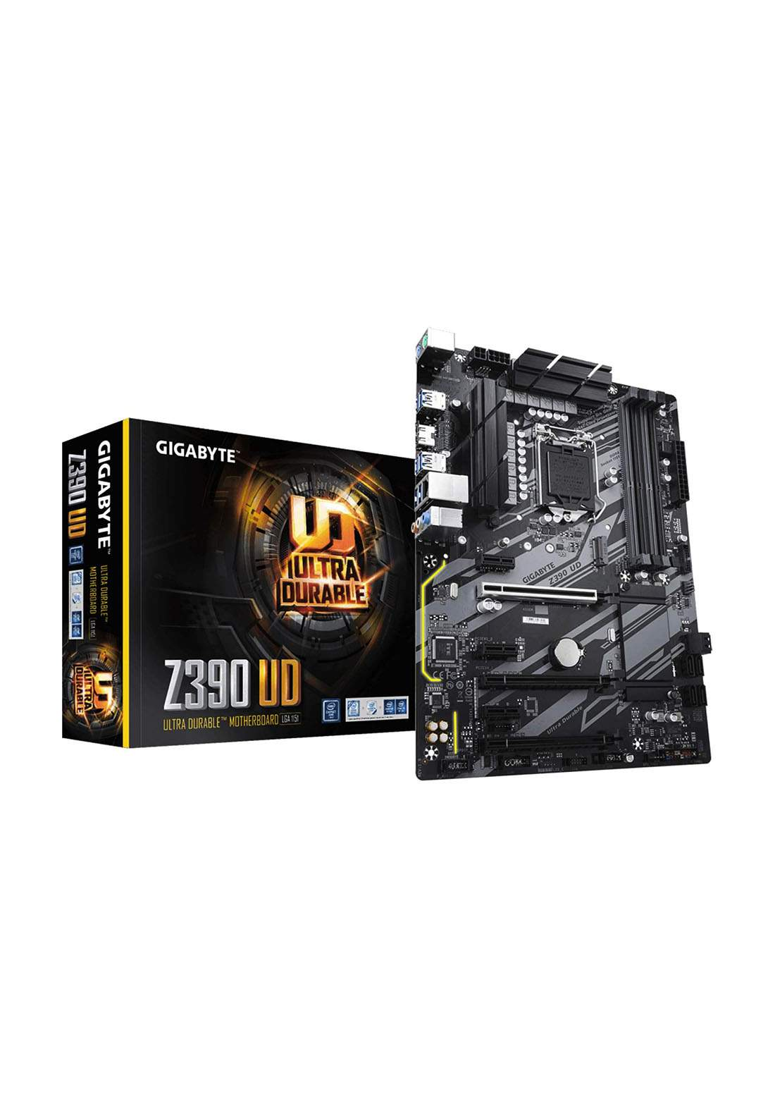 Gigabyte Z390 Ud Intel Lga115 Motherboard-Black لوحة الام