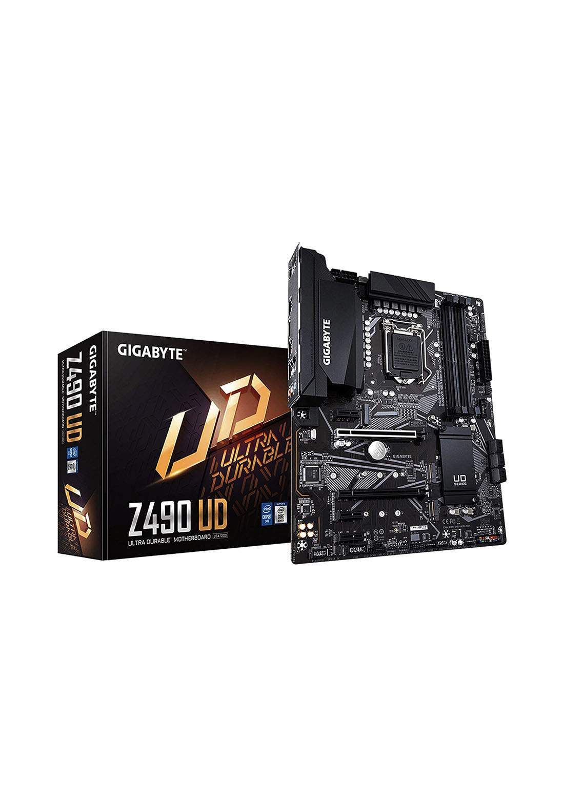 Gigabyte Ud Z490 Atx Lga1200 Motherboard-Black لوحة الام