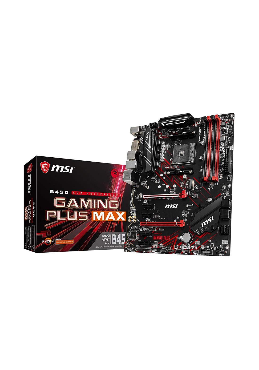 Msi B450 Gaming Plus Max Motherboard لوحةالام