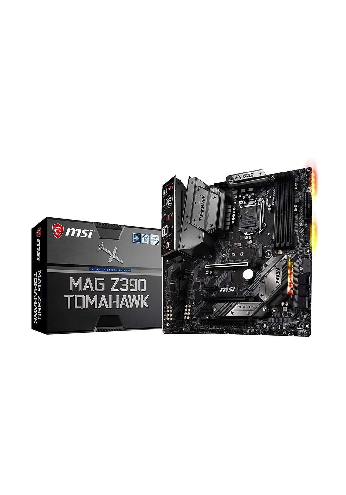 Msi Z390 Mag Tomahawk Atx Lga1151 Motherboard لوحة الام
