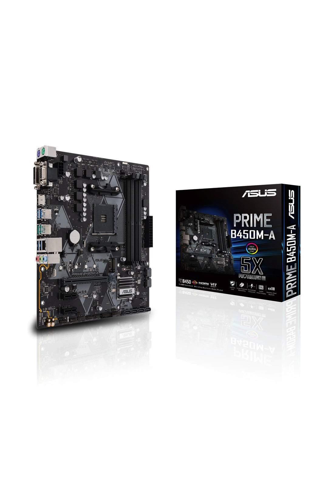 Asus B450M A Prime Motherboard Ddr4 لوحة الام