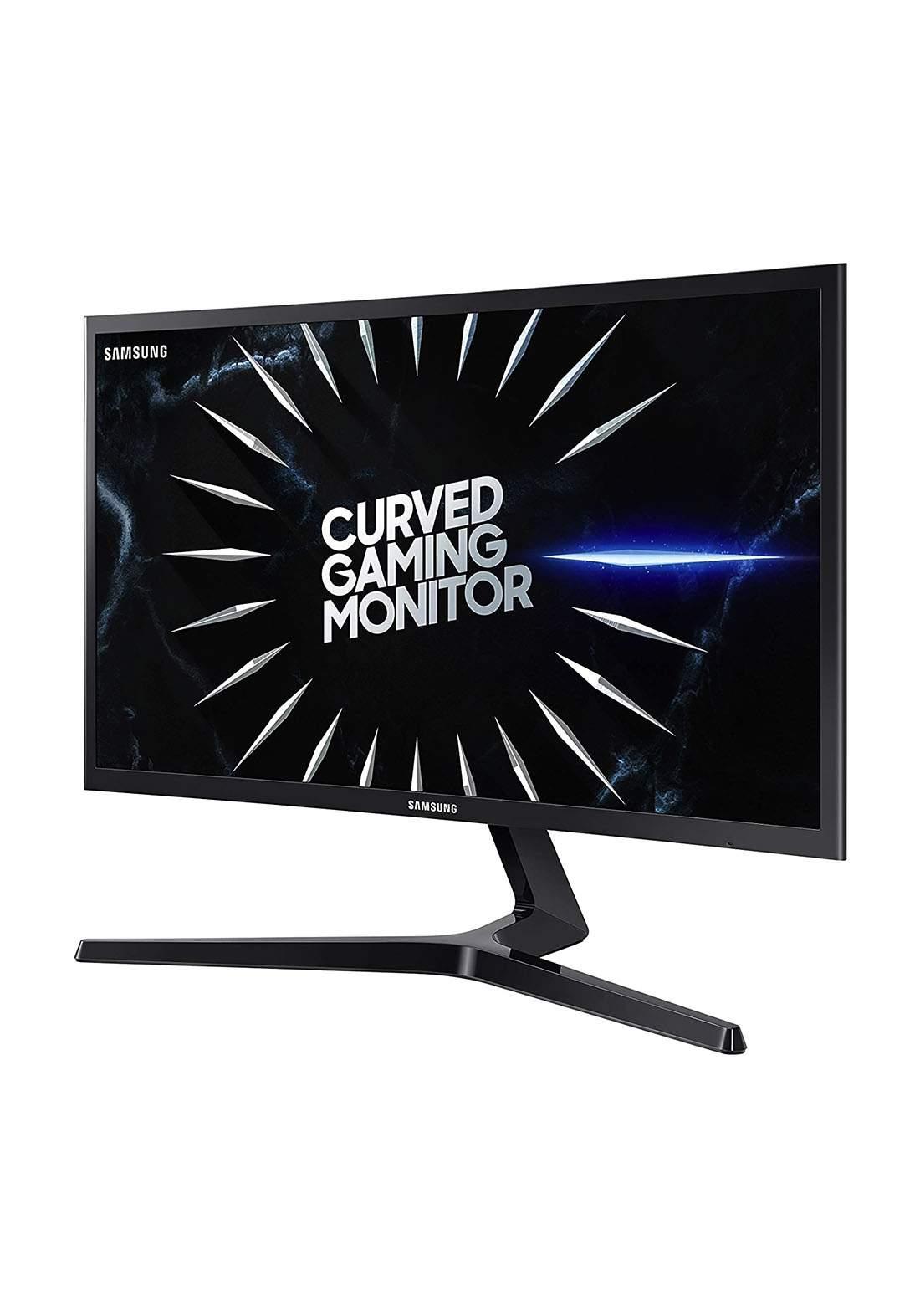 Samsung CRG50 24-Inch  144Hz Curved Gaming Monitor-Black شاشة كمبيوتر