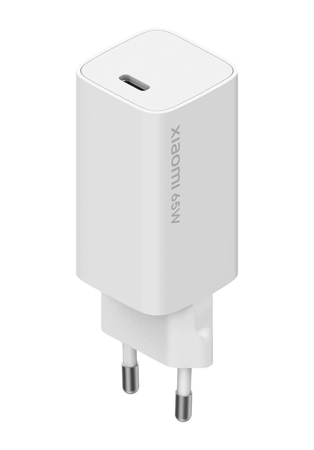 Xiaomi Mi 65W Fast Charger with GaN Tech - White شاحن