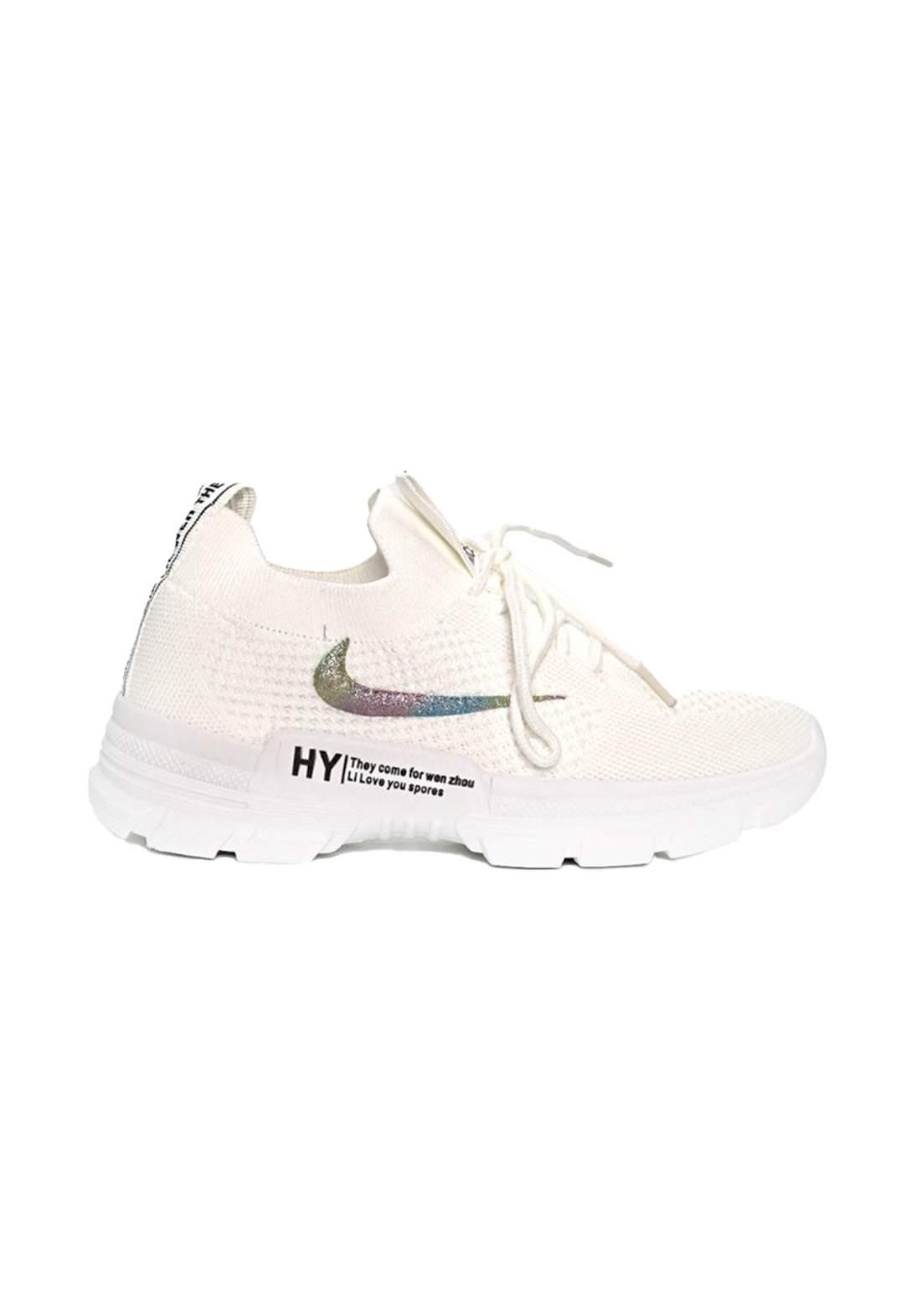 حذاء رياضي نسائي طبي ابيض-37