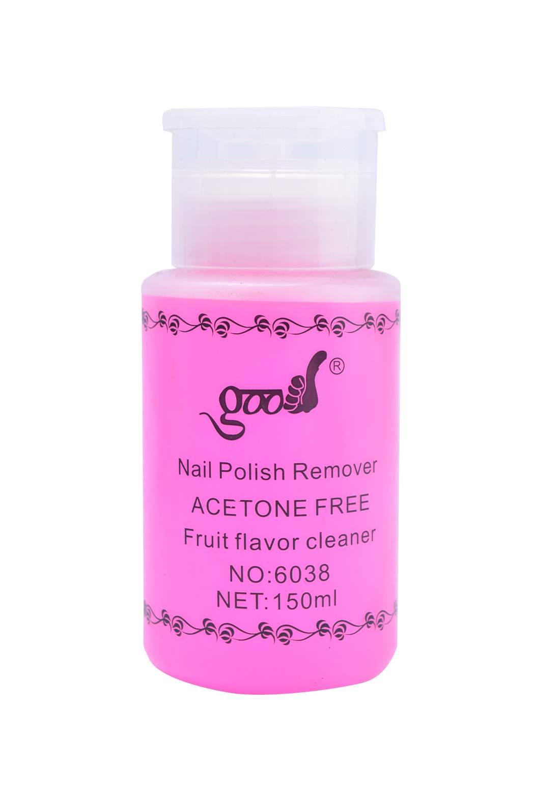Good Nail Polish Remover Acetone Free 150ml مزيل طلاء للاظافر