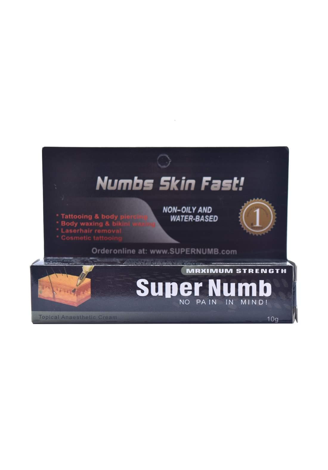 Super Numb Skin Fast 10g   كريم التخدير الموضعي